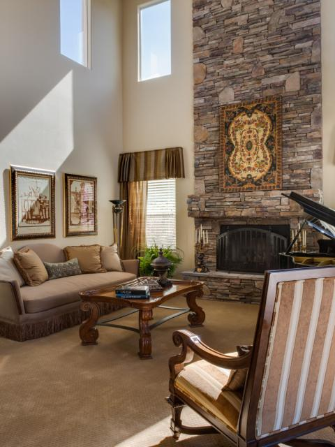 traditional-living room2