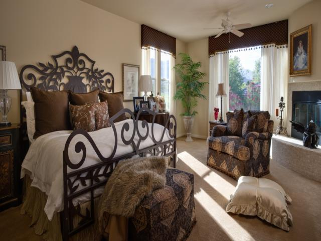 traditional-master bedroom